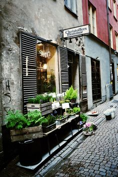 christoffers blommor - gamla stan, stockholm