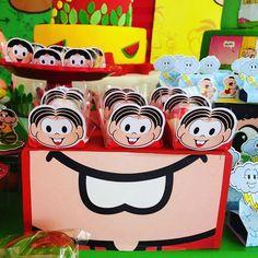01 festa turma da monica Ideas Para Fiestas, Yoshi, Party Time, Alice, Mickey Mouse, Happy Birthday, Cartoon, Toys, Disney Characters