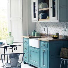 Bastide kitchen from Fired Earth | Kitchen idea | Beautiful Kitchens | Housetohome | PHOTOGALLERY