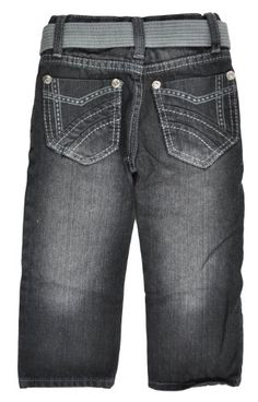 99957c97040c Chams Toddler Boys Denim Black Slim Fit Pant « Clothing Impulse
