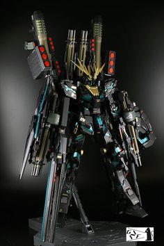 MG FAバンシィ Gunpla Custom, Custom Gundam, Blood Orphans, Unicorn Gundam, Lego Mecha, Gundam Model, Mobile Suit, Marvel Art, Plastic Models