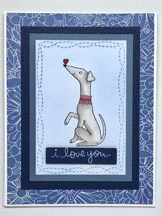 Whippet/Greyhound_I love you by PaperDogStudios on Etsy
