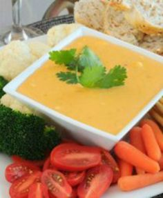 Skinny 'Beer Cheese' Dip: This was a huge hit for class! Great recipe! No one even guessed that it was healthy!! | via @SparkPeople #food #appetizer #party #SuperBowl
