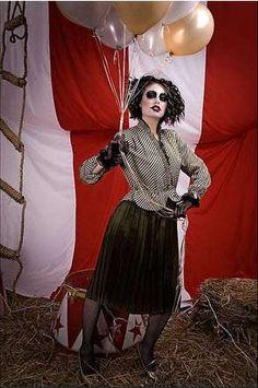 Circus Nightmare Photography -