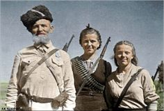 Soviet partisans ww2