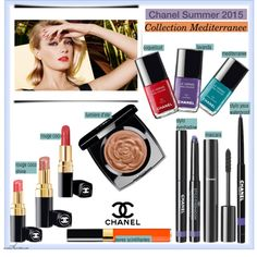 Chanel Summer 2015 Collection by arethaman on Polyvore featuring polyvore, beauty, Été Swim, Chanel, makeup and summer2015