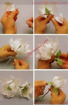 Sugar hellebore petals work in progress precision painting – Artofit Fondant Flower Tutorial, Fondant Flowers, Sugar Flowers, Paper Flowers, Handmade Decorations, Flower Decorations, Art Deco Cake, Chocolate Flowers, Valentines Flowers