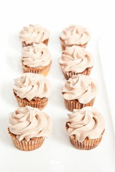 Nutella Cupcakes { BiteDelite Food Blog }