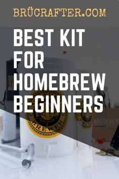 Best Beginner Homebrew Kit Man Cave Designs, Make Beer At Home, How To Make Beer, Homebrew Recipes, Beer Recipes, Brewing Recipes, Coffee Recipes, Diy Man, Beer Brewing Kits
