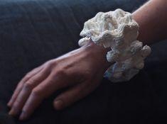 Mandelbulb Bracelet #01 by MANDELWERK on Shapeways