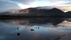 Bassenthwaite Lake, the Western Lake District, England.