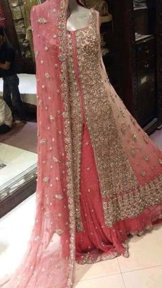 Best Pakistani Wedding & Party Dresses by top designers Pakistani Wedding Outfits, Pakistani Wedding Dresses, Bridal Outfits, Indian Outfits, Indian Dresses, Bridal Sarees, Bridal Anarkali Suits, Party Wear Dresses, Wedding Party Dresses
