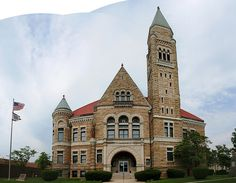 Elkins, WV (home of WELK-FM).  I worked there in the 80s. Randolph County Courthouse IMG_2958-61 by OZinOH, via Flickr