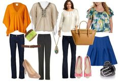Pear Shaped Body Casual Style