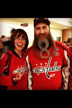 faf6ffa652a Wonder how long it took to grow that? Washington Capitals, Ice Ice Baby,
