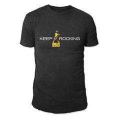 Camiseta Masculina 89FM A Rádio Rock Keep Rocking