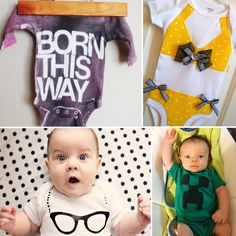15 ADORABLE onesies you can make
