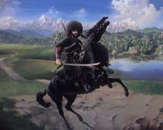 Chechen warrior #arts