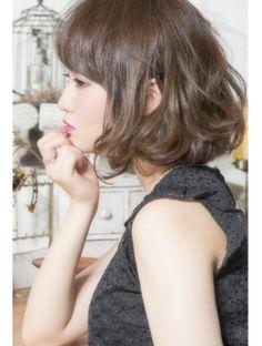【keep hair design.木田】☆ウェービー大人ボブ