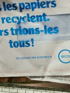 Recyclons-les-papiers.fr : phrase injonctive complète comme URL