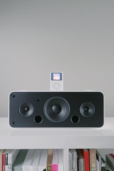 Apple iPod Hi-Fi — Minimally Minimal Computer Supplies, Affiliate Partner, Advertising Strategies, Ipod Classic, Marketing Program, Ipod Nano, Steve Jobs, Apple Products, Cool Things To Make