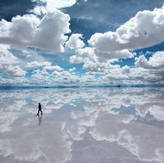 Awesome Cloud Reflections