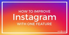 Instagram has made some incredible updates for business lately, but...there is still one feature, already available on Facebook, that we would LOVE to see!