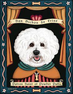 Bichons: patron saint of powder puffs