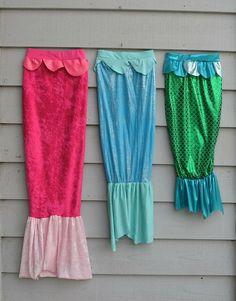 Mermaid DIY - Gracie would totally love this!