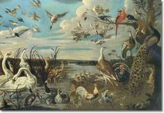 Frans Snyders--Concert of Birds (48 pieces)