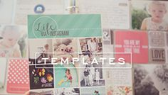 2013 Project Life Pages + Printable Cards - simple as that