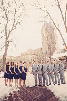 A winter wedding // Photo by Elijah. #minneapolisweddingphotographer #weddingphotography