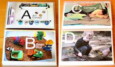 All About Me ABC Book: Playful Learning Book & E-Course Giveaway - Modern Parents Messy Kids