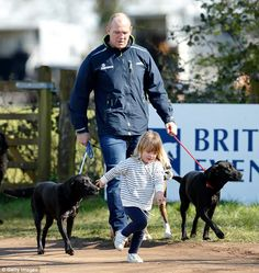 Speaking for the first time since the news was announced the former rugby player revealed how he had coped with the loss revealing that his daughter Mia was a 'saving grace'. Mike Tindall, Scotland History, Princess Anne, Saved By Grace, Rugby Players, England And Scotland, British Royals, Zara, Saving Grace