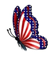 Patriotic Photo: This Photo was uploaded by Find other Patriotic pictures and photos or upload your own with Photobucket free image and v. Butterfly Wallpaper, Blue Butterfly, Butterfly Kisses, Patriotic Pictures, Patriotic Quotes, Patriotic Crafts, I Love America, Butterfly Pictures, Flag Art