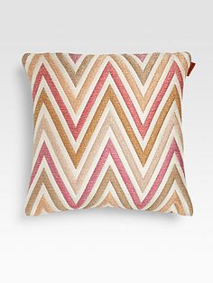 Missoni Nesterov Pillow - I'm in love. $250