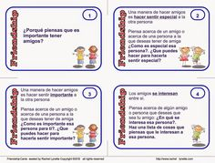 El sonido de la hierba al crecer: amistad Speech Therapy, Teaching, Education, Writing, School, Pictures, Kids Psychology, Words, Activities