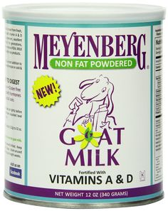 Meyenberg Nonfat Powdered Goat Milk, Vitamins A and D, 12 Ounce -- Want to know more, click on the image.