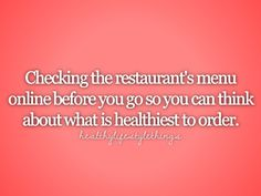 I do this but not to find what's healthiest. I do it because it takes me forever to make a decision lol!!