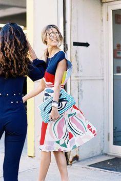 Vanessa Jackman: New York Fashion Week SS 2016....Martha