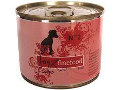 Dogz finefood No. 2 Hundefutter mit Rind