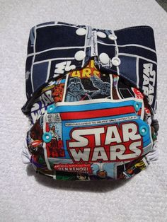 i want!! star wars one size pocket cloth diaper by courageousinc on Etsy, $20.00