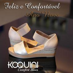 Então você quer passar a virada em alta e cheia de conforto? Use e abuse do conforto da #anabela #malusupercomfort #koquini #euquero Venha provar a sua na Bandeirantes, 1011 - Araçatuba 😘