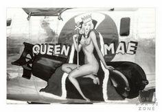 "B-24 Liberator - ""QUEEN MAE""."