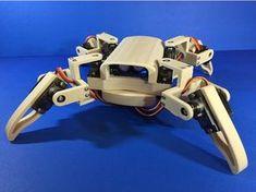 jBot Q1 mini Quadruped Robot (Designed by Jason Workshop) by jasonleung8866 - Thingiverse