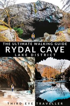 A great hidden gem in the Lake District is Rydal Cave. Here's a complete guide to visiting with walking routes, parking options and also what you can do there! Beautiful Places To Visit, Cool Places To Visit, Places To Travel, Ambleside Lake District, Lake District Walks, Uk Destinations, Hiking Routes, Paradise Travel, Cornwall England