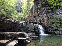 Maniava waterfall, Karpaty, Ukraine