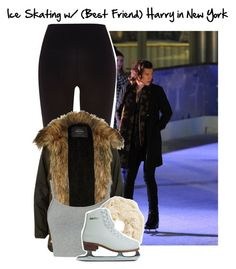 """""""Ice Skating with (Best Friend) Harry in New York"""" by hazza-is-my-lover ❤ liked on Polyvore featuring River Island and H&M"""