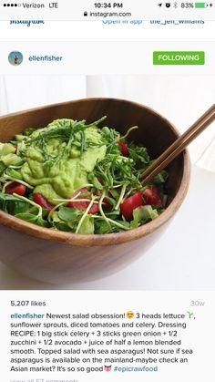 Raw salad dressing by Ellen Fisher