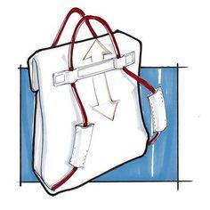 Josh Buller - Taschen Designer - Trending Still Designs for Women 2019 - Beutel Sewing Hacks, Sewing Projects, Sewing Diy, Sewing Ideas, Craft Bags, Diy Bags, Denim Bag, Fabric Bags, Bag Design